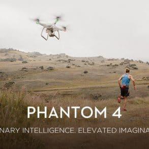Le nouveau drone de DJI, Le phantom 4
