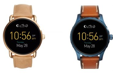 Montres connectées Fossil Q Wander - Q Marshall