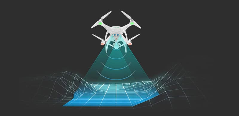 Le Phantom 4 contourne les obstacles
