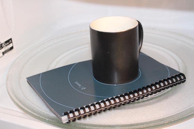 Cahier micro ondable