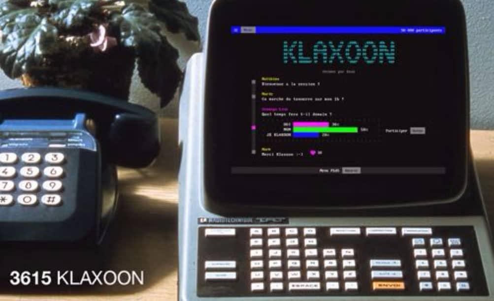 Klaxoon Minitel