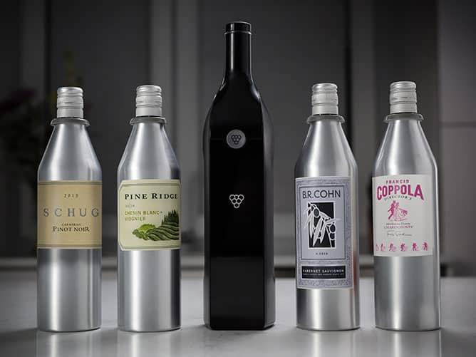 Bouteille de vin connectée - Kuvée