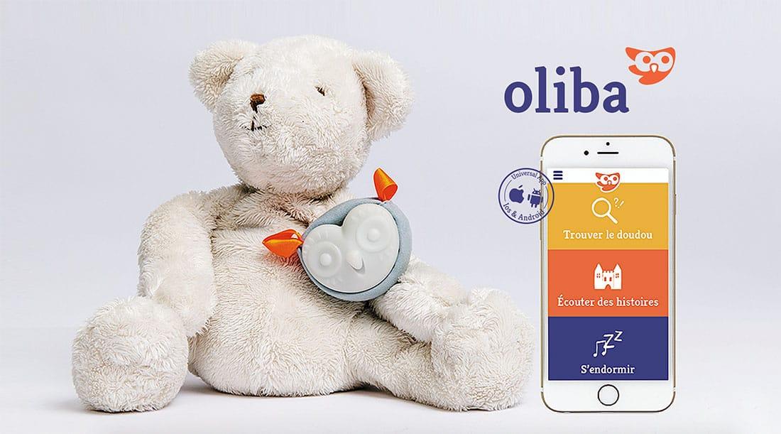 Oliba, le doudou connecté