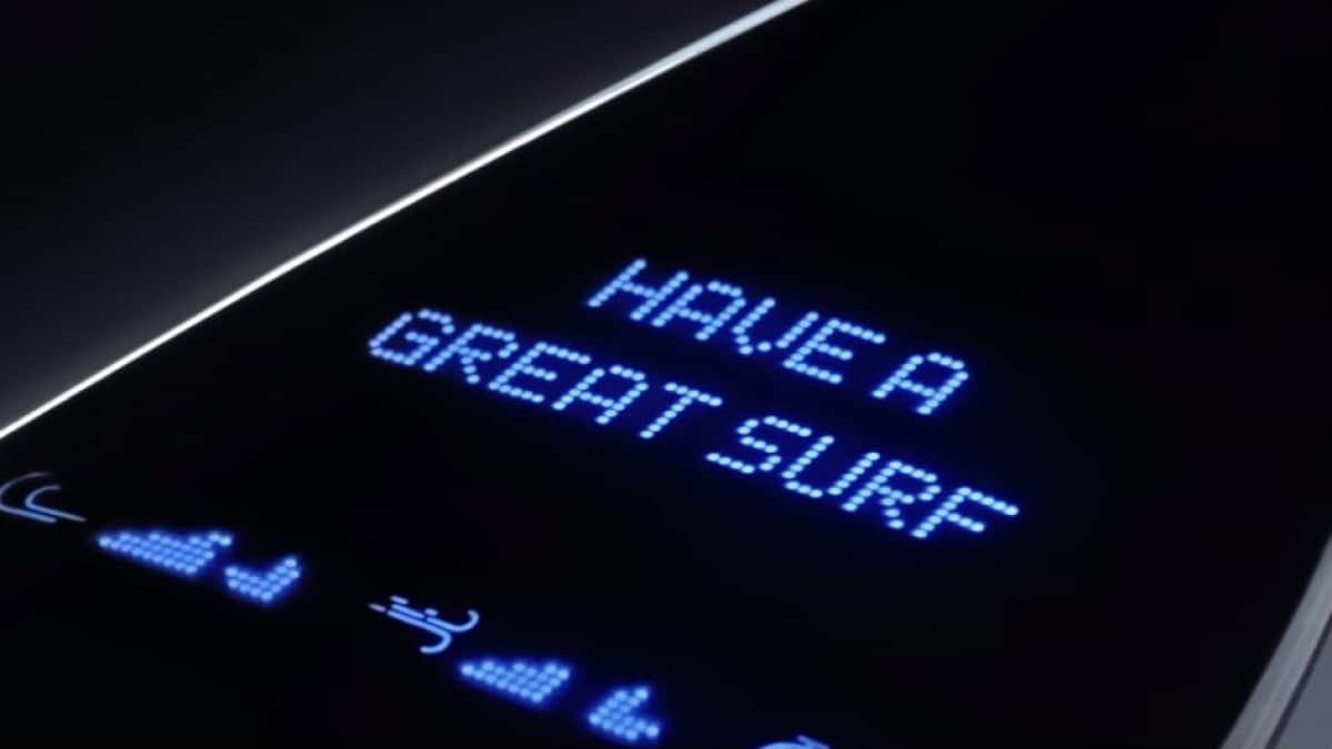 La planche de surf connectée made in Samsung