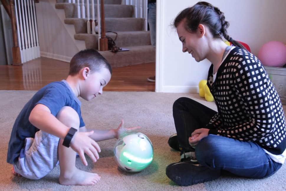 Leka, le robot dédié aux enfants atteintes d'autisme