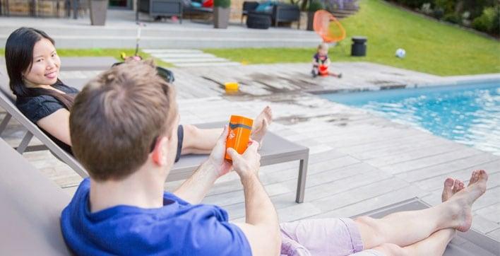 No Stress - Dispositif connecté prévenant les risques de noyades