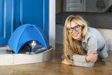 Smart Kitty, la litière connectée qui s'auto-nettoie