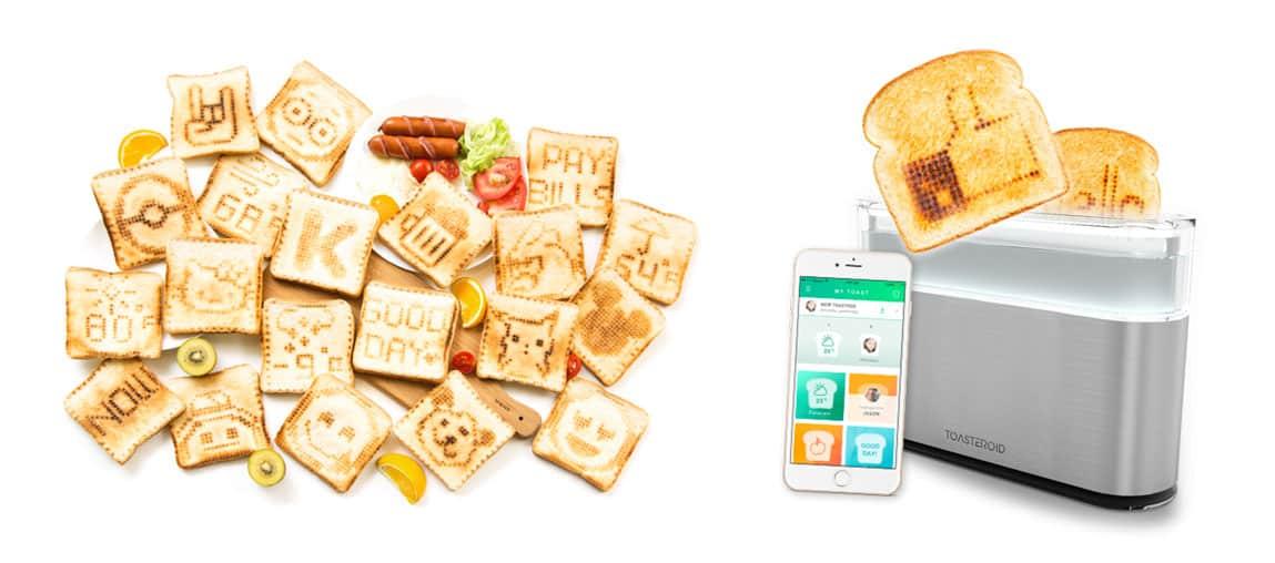 Toasteroid, le grille-pain connecté