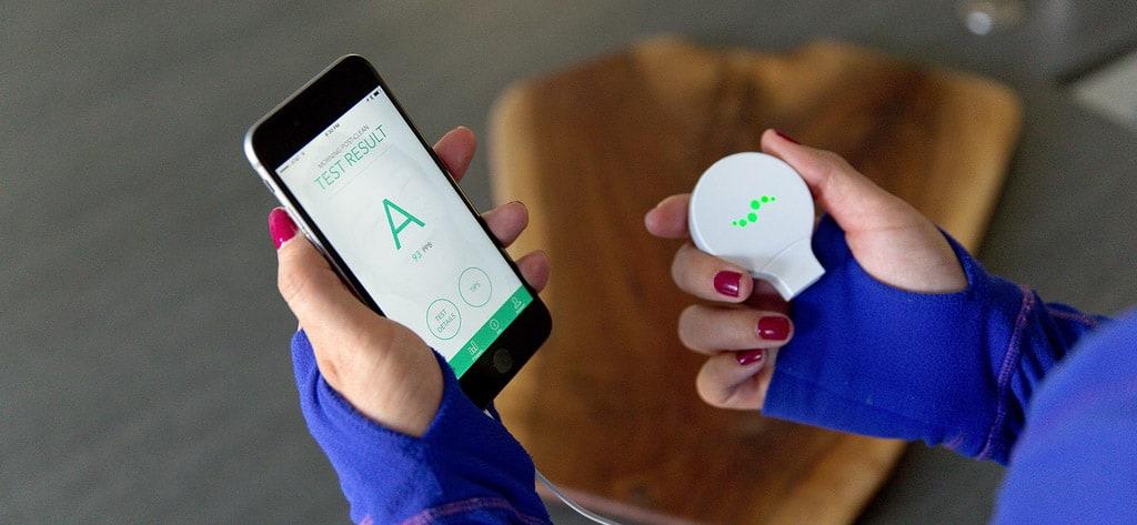 Breathometer Mint surveille votre santé bucco-dentaire