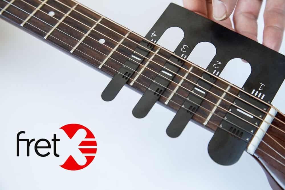 Apprendre la guitare n'aura jamais été aussi ludique avec FRETX