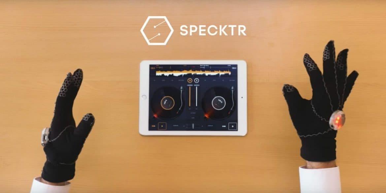 Specktr, le gant connecté pour vos compositions musicales
