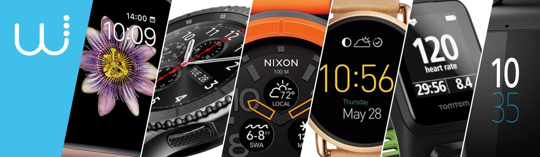 10 montres connectées en 2016/2017