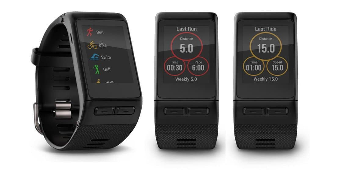 Montre connectée Garmin Vivoactive HR