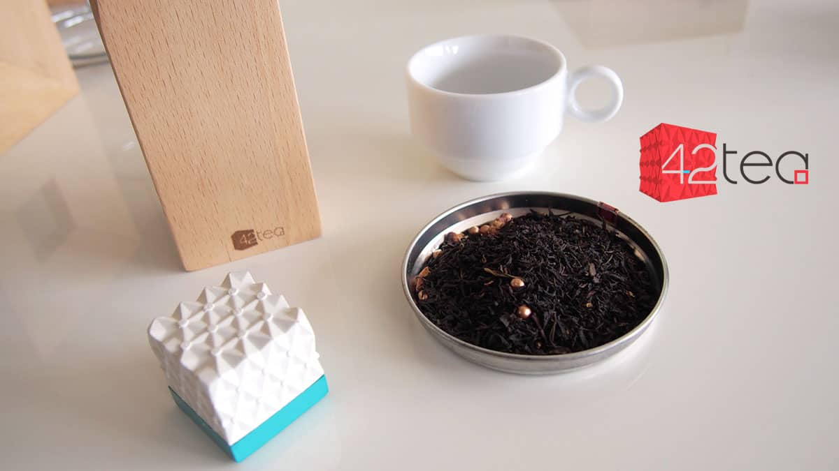 Votre thé à la perfection avec le cube connecté 42tea