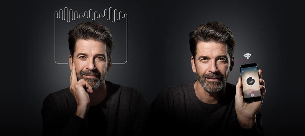 Aides auditives connectées à votre smartphone