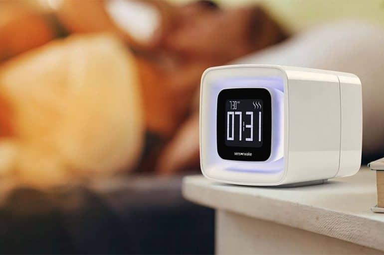 Sensorwake, le premier réveil olfactif