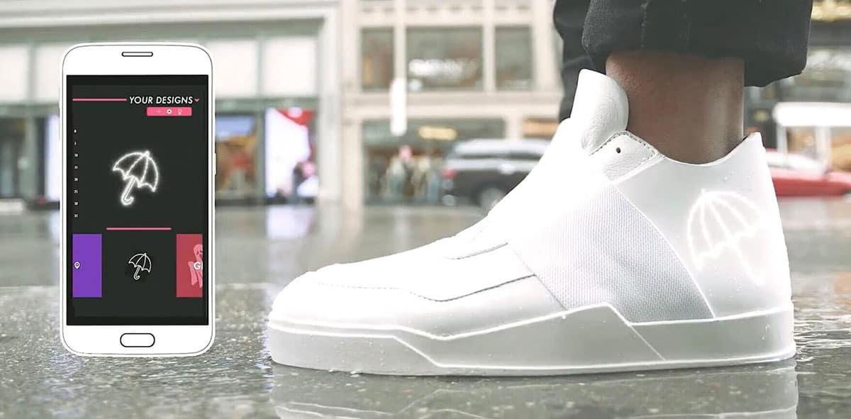 Vixole, les sneakers connectées