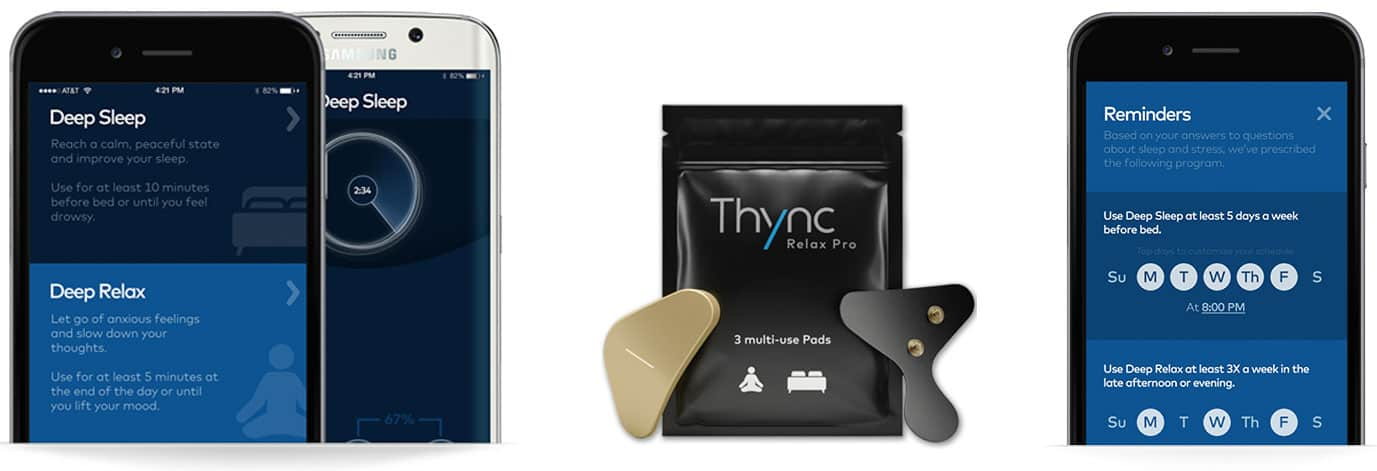 L'application Thync Relax pro