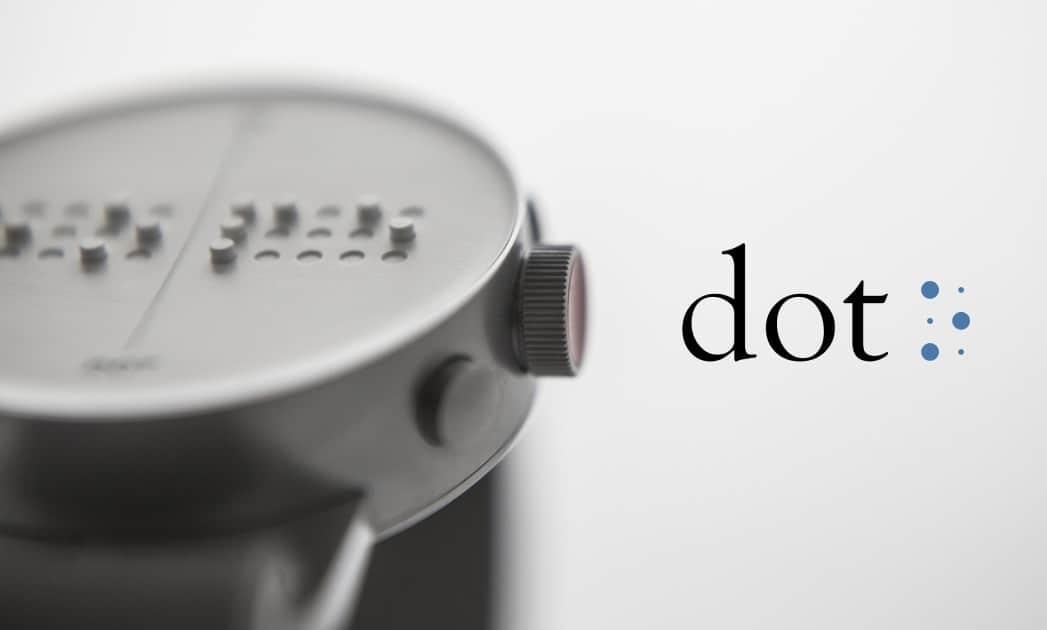 DOT, la montre connectée dédiée aux malvoyants