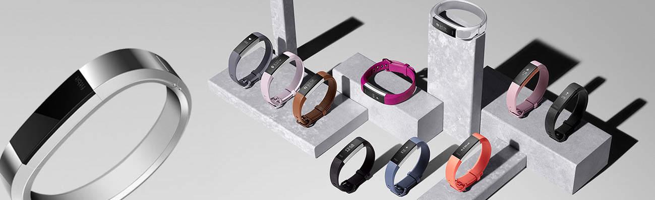 Gamme des bracelets connectés Fitbit Alta HR