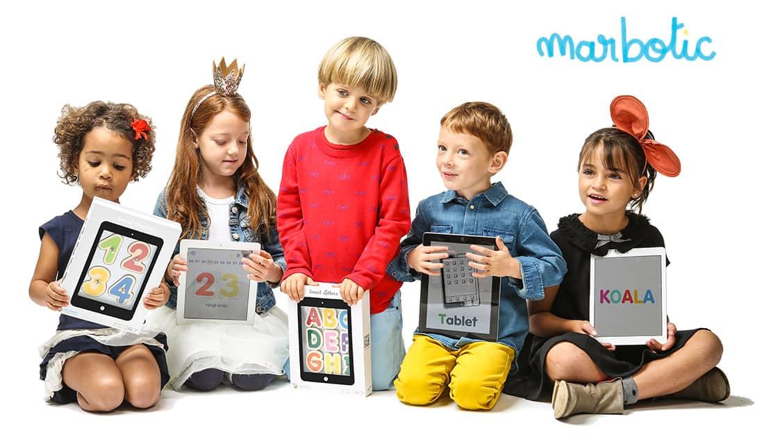 Les jouets connectés Marbotic