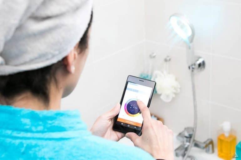Connectez votre douche avec Hydrao et économisez