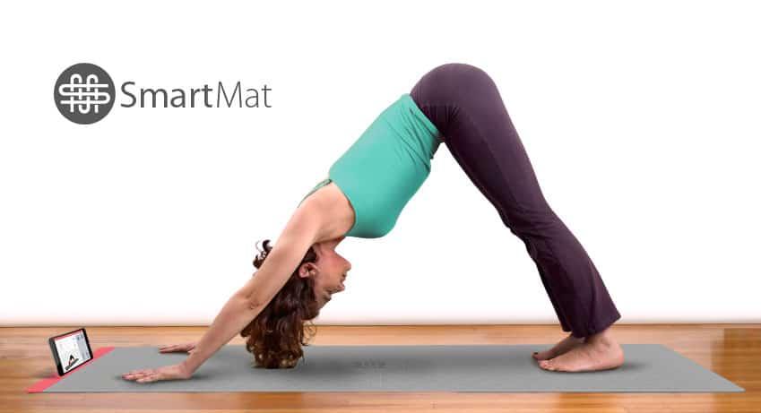 SmartMat, le tapis de Yoga connecté