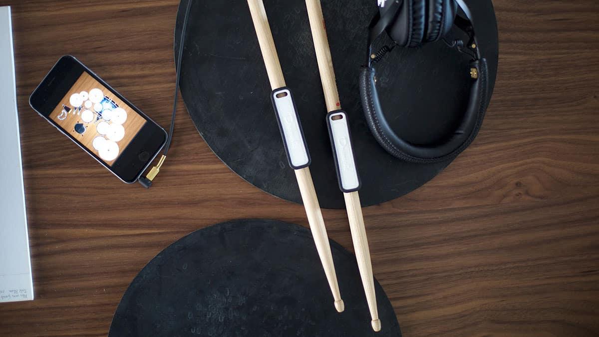 Drumistic, connectez vos baguettes de batterie