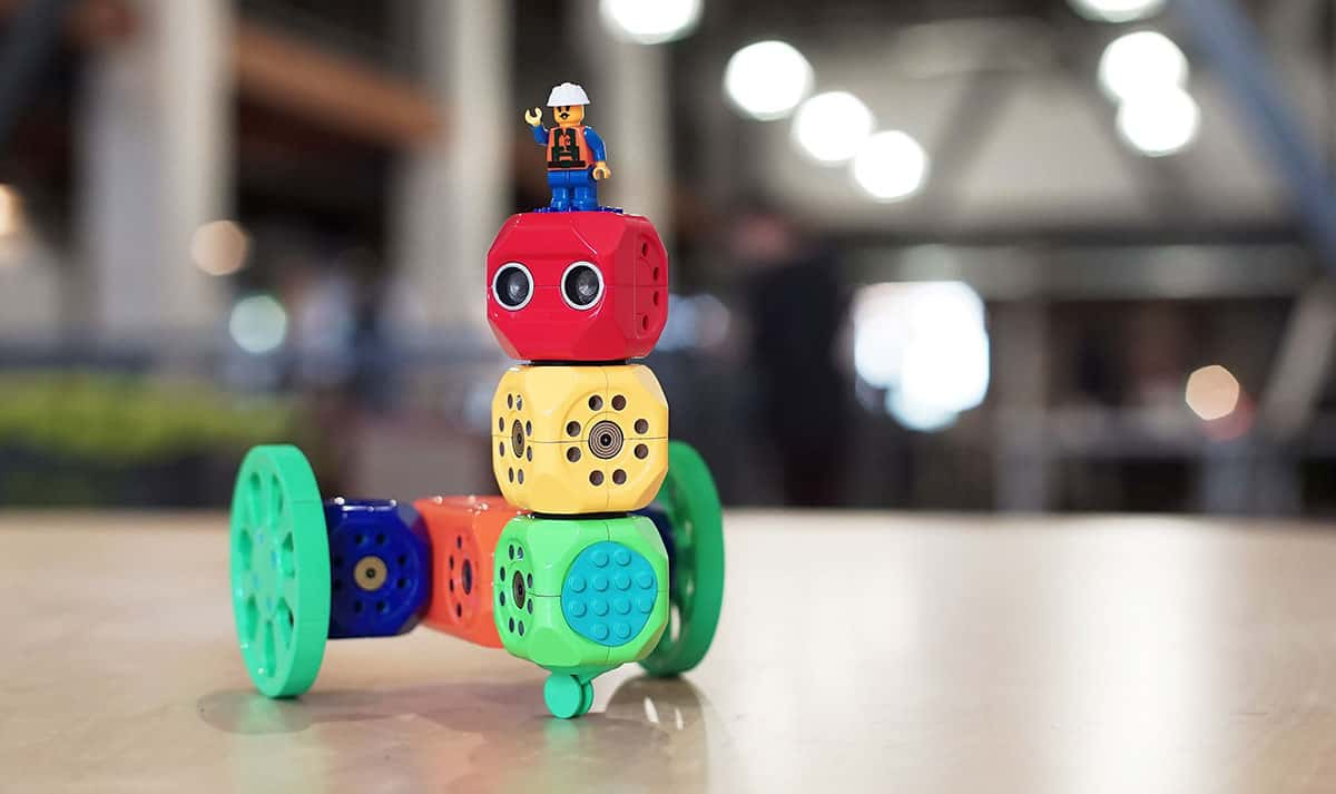 Les cubes Robo Wunderkind sont compatibles avec Lego