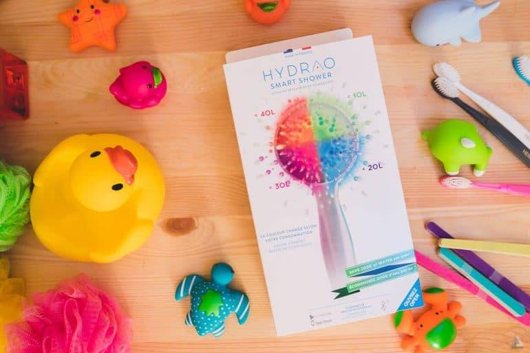 Hydrao First, le pommeau de douche connecté