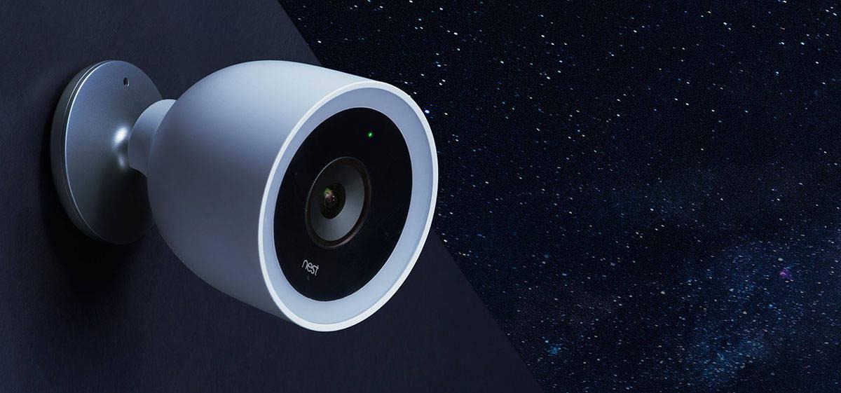 Nest Cam IQ Outdoor, la caméra de surveillance d'extérieur connectée de Nest
