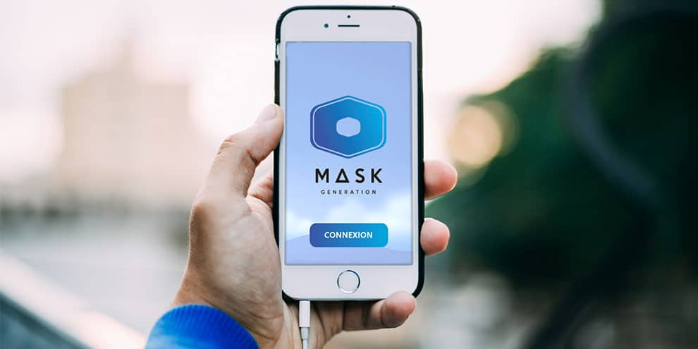 l'application mobile de Mask