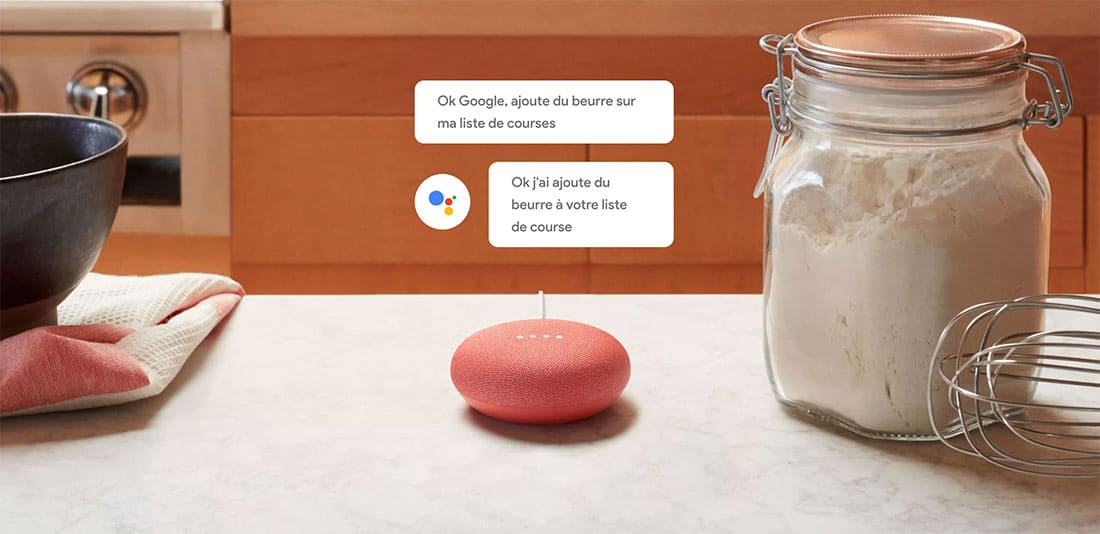 Google Home Mini : L'enceinte intelligente du géant Google