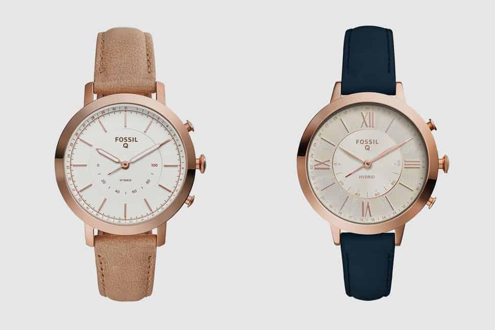 Q Jacqueline et Q Neely, deux nouvelles montres connectées pour Fossil