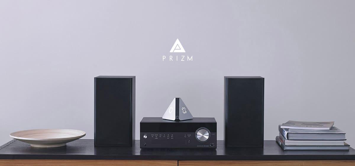 Prizm, le lecteur audio connecté