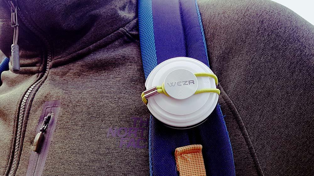 WEZR, la station météo nomade et connectée