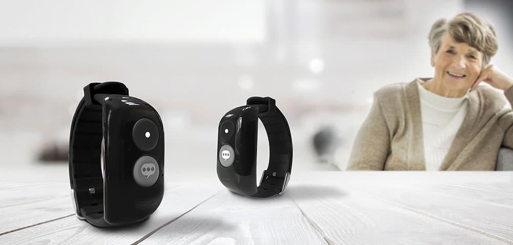 Bracelet connecté Linkoo pour les seniors