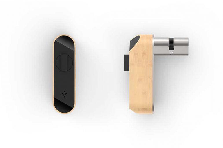 Bright Lock de HAVR, la serrure connectée à ouverture lumineuse