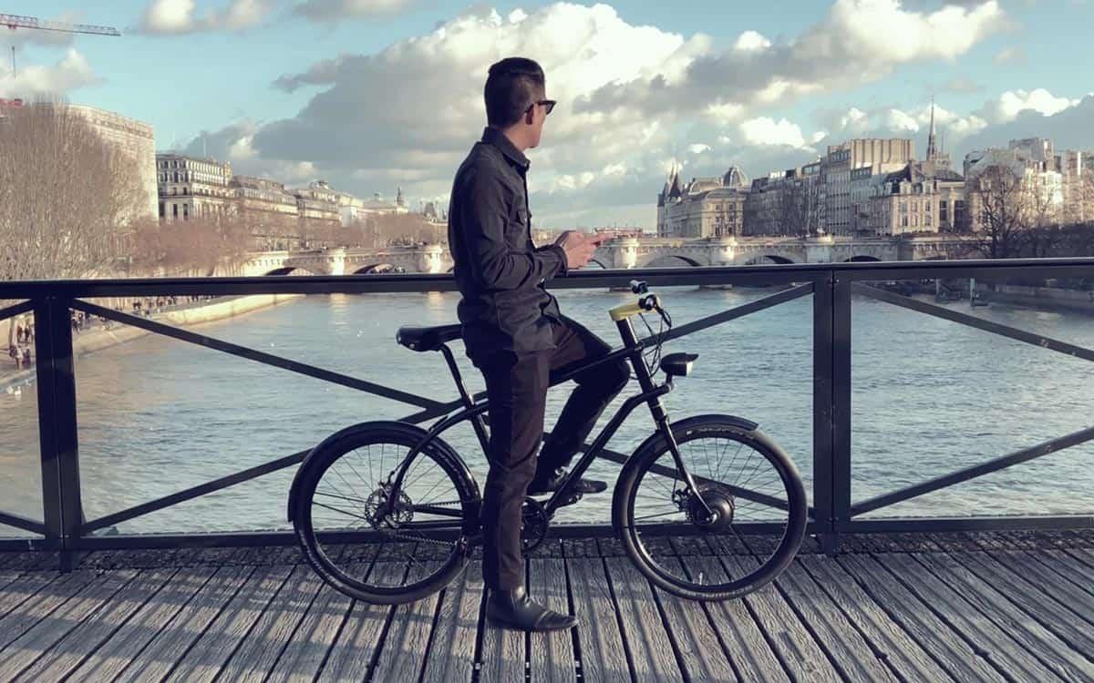 Le Vélo connecté et électrique made in Yellow Innovation