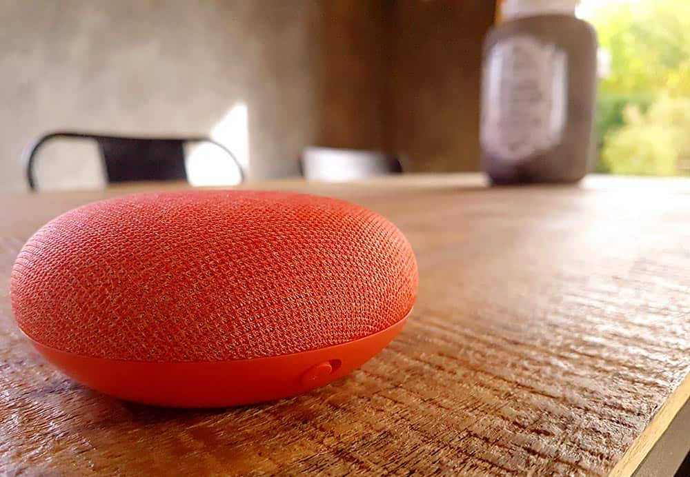 Test de l'assistant vocal Google Home Mini