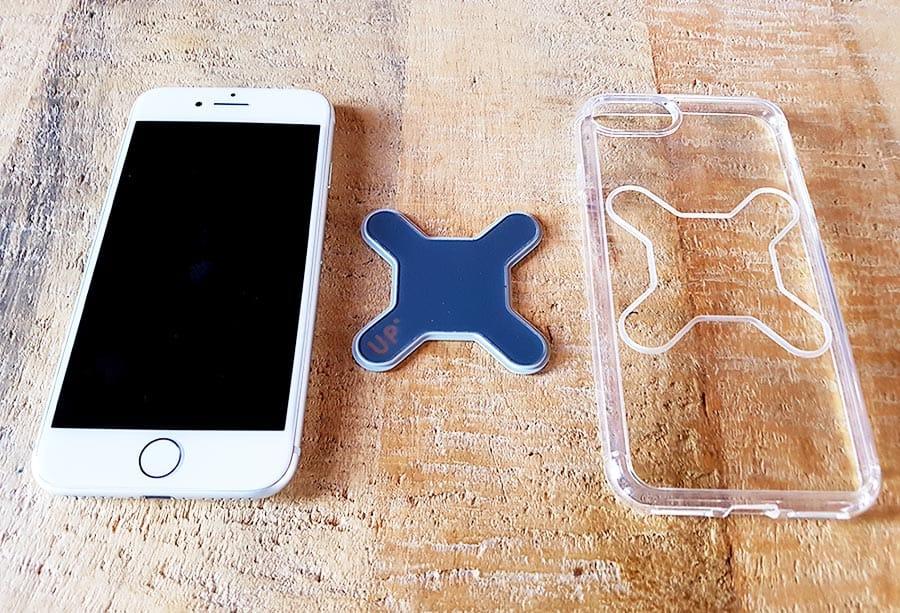 La coque spécifique Iphone 8 pour les supports Exelium