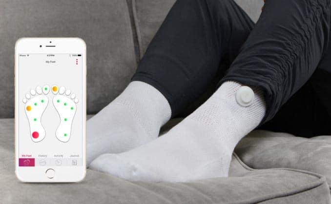 Siren, les chaussettes connectées dédiées aux diabétiques
