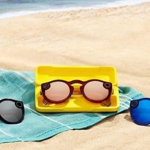 Snapchat réitère ses lunettes de soleil connectées