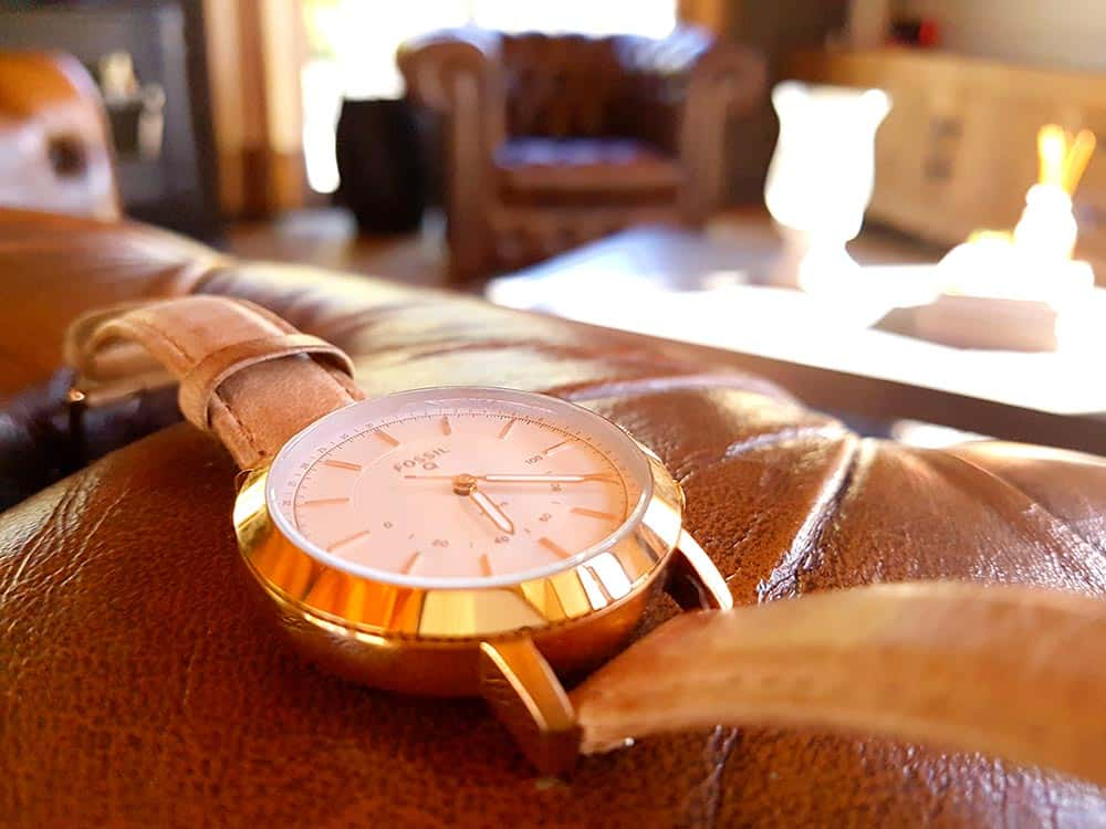 Review montre connectée Fossil Q Neely