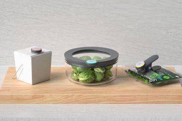 Smartware : système connecté de stockage d'aliments