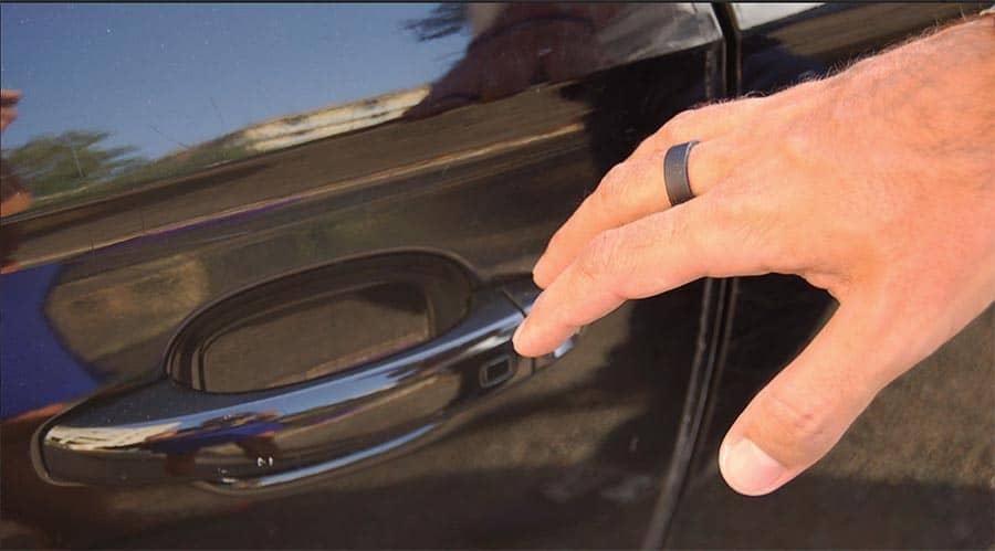 Ouvrez votre voiture avec la bague connectée Aeklys