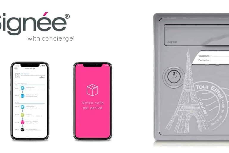 Signée with Concierge : la boîte aux lettres connectée made in France