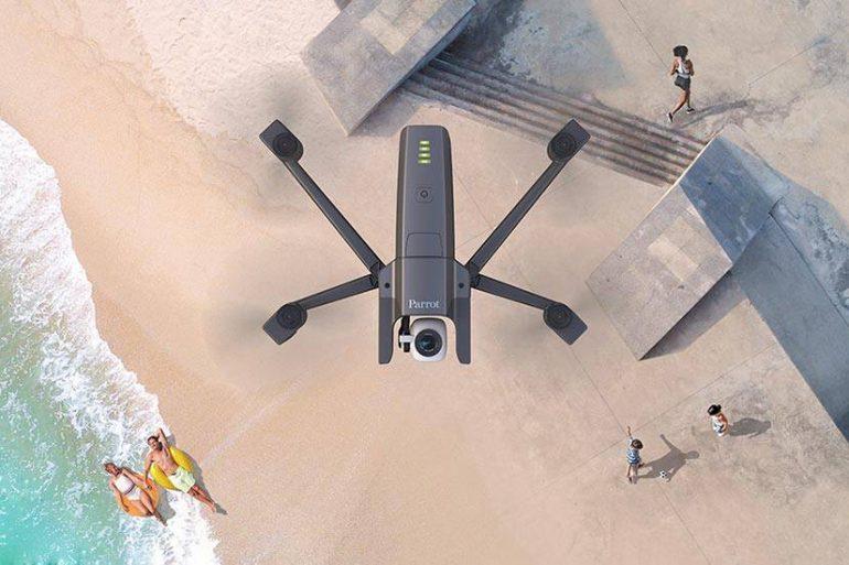 Anafi, le nouveau drone pliable signé Parrot