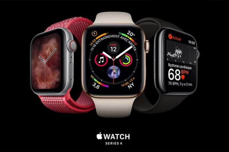 Sortie de l'Apple Watch Series 4