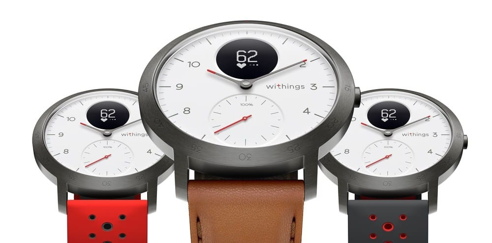 Nouvelle montre connectée hybride Withings Steel HR Sport